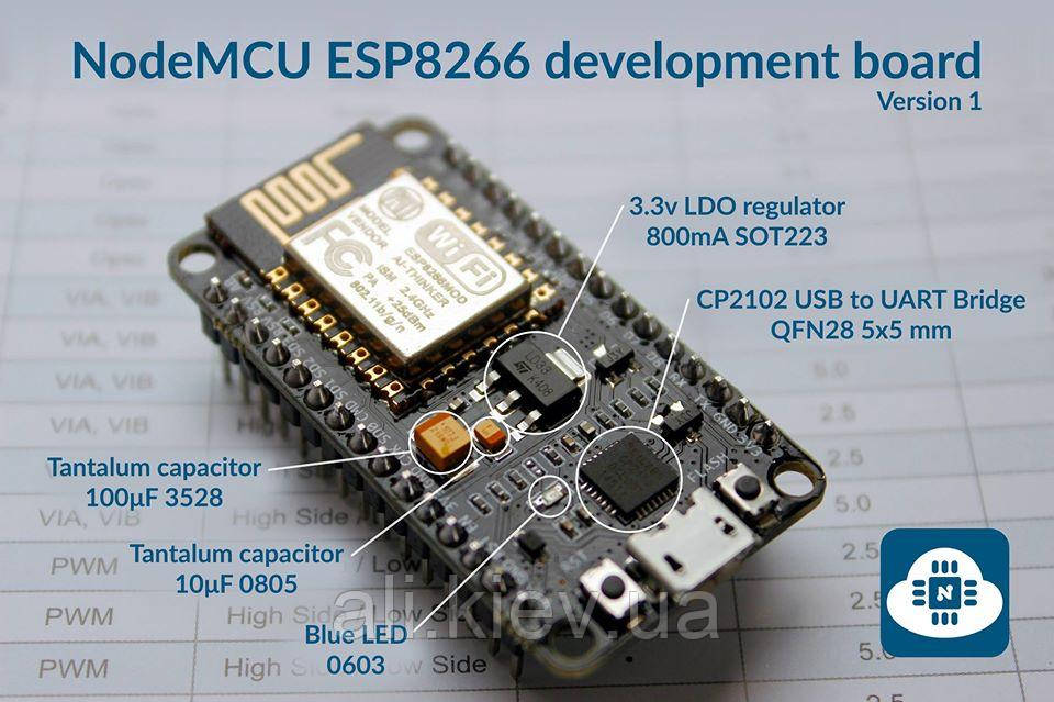 LoLin v3 NodeMcu Lua Wi-Fi ESP8266 CH340 плата разработчика Arduino IDE