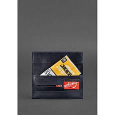 Кожаный кисет для табака 1.0 синий, фото 2