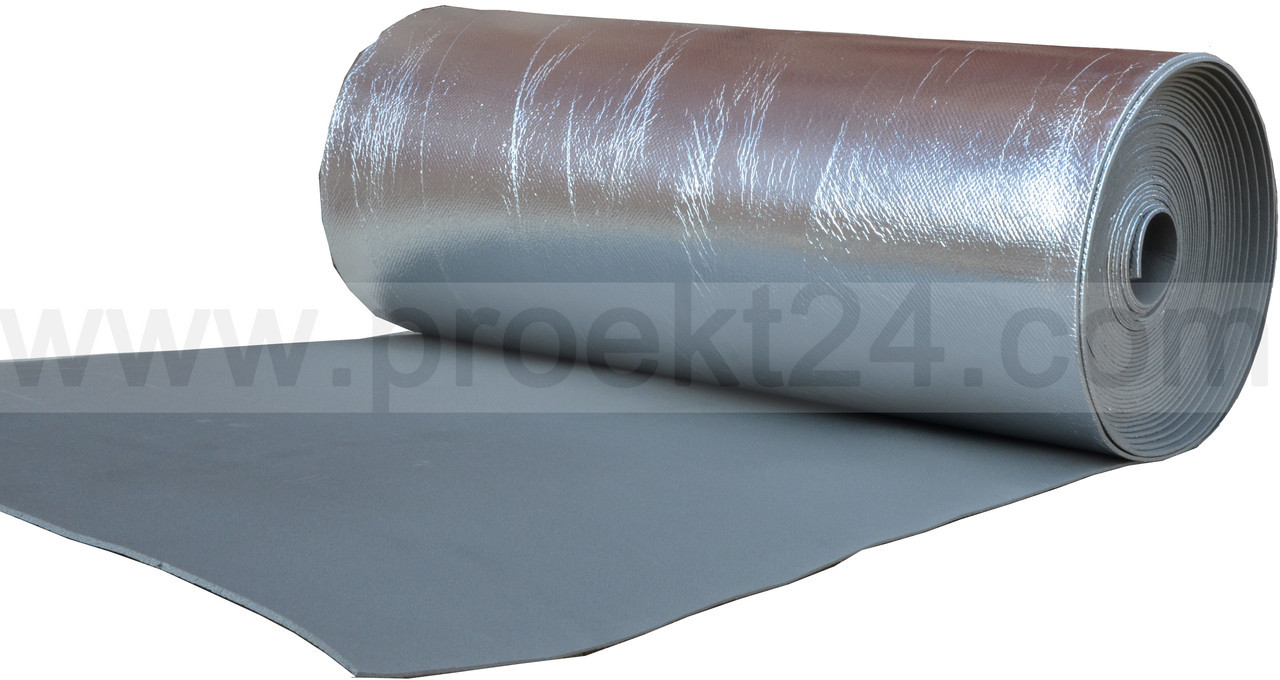 Изолон фольгированный 3мм (Isolon 300 LA, химически сшитый)