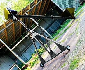 Шнековый транспортер (винтовой конвейер) в трубе 159 мм, длинной 2 м, 10 т\час, двигатель 1.5 кВт