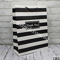 Пакет бумажный подарочный   (уп-12 шт)