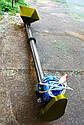 Шнековый транспортер (винтовой конвейер) в трубе 220 мм, длиной 8 м, 20 т/час, двигатель 5.5 кВт., фото 2