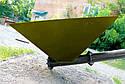 Шнековый транспортер (винтовой конвейер) в трубе 220 мм, длиной 8 м, 20 т/час, двигатель 5.5 кВт., фото 3
