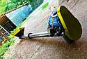 Шнековый транспортер (винтовой конвейер) в трубе 220 мм, длиной 8 м, 20 т/час, двигатель 5.5 кВт., фото 4