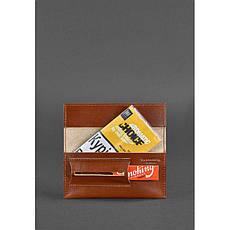 Кожаный кисет для табака 1.0 Krast светло-коричневый, фото 2