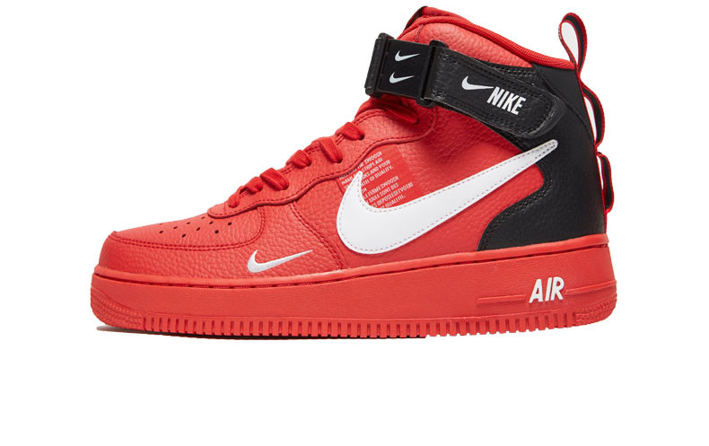 772de223 Мужские кроссовки Nike Air Force 1 Mid '07 LV8 Utility Red - FREE CHOICE -