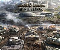 Коврик для мыши World of Tanks 15