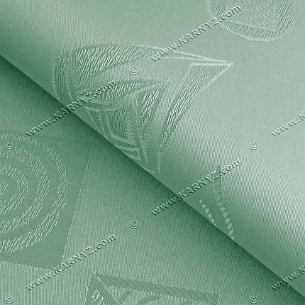 Рулонные шторы Геометрик фисташковый, фото 2
