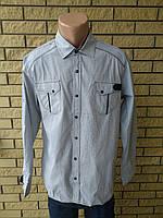 Рубашка мужская больших размеров коттоновая высокого качества SPORTSMAN 6423f91328b25