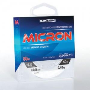 Зимняя леска Team Salmo MICRON 0,16мм/50м