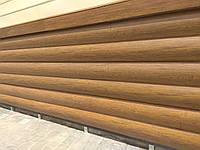 Металлический сайдинг Блок-хаус Бревно структурный Структурная сосна, фото 1