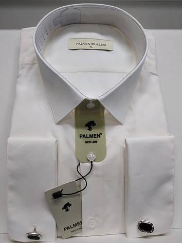 Мужская рубашка  Palmen на запонке, фото 2