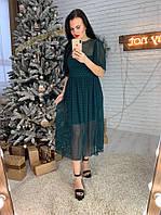 """Женское шикарное платье """"MIRA"""" (2 цвета), фото 1"""