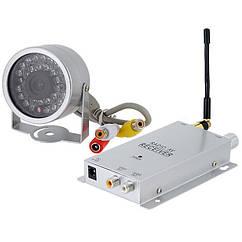 Беспроводная камера с приёмником видеосигнала дальностью до 80 м Hamy A-30, КОД: 146725