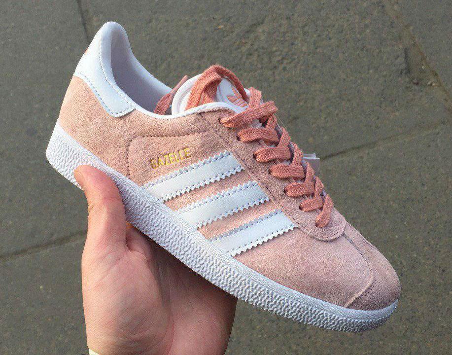 Adidas Gazelle Pale Pink  ec9876766fd5e