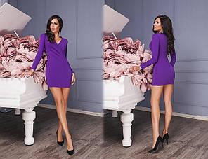 Платье мини в расцветках 523049, фото 2