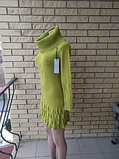 Платье, туника женская вязаная высокого качества XY, фото 2