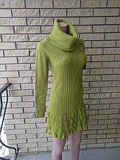 Платье, туника женская вязаная высокого качества XY, фото 3