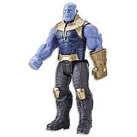 "Фигурка суперзлодея Танос (Thanos) ""Мстители: Война бесконечности"" серия Titan Hero Power FX Port, фото 1"
