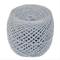 Пряжа для вязания из шерсти мериноса 100г голубого цвета