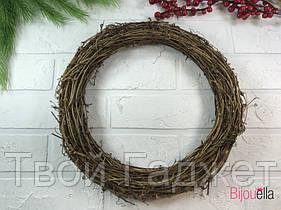 Круг из натуральной плети 25х4