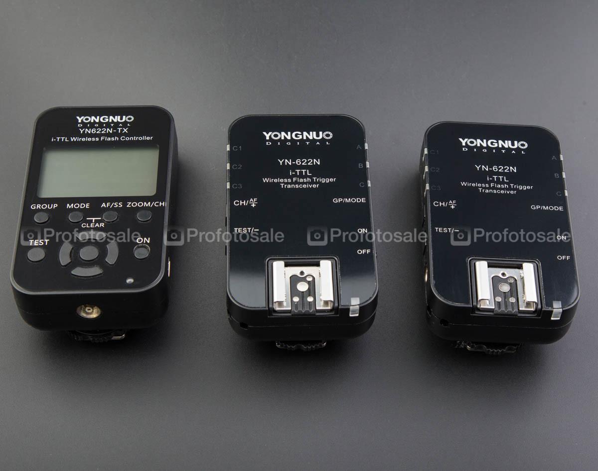 TTL - синхронизаторы Yongnuo YN-622N-TX + 2 шт YN-622N для Nikon