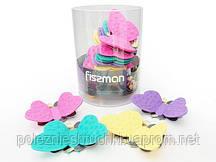 Прихватка силиконовая с магнитом в форме бабочки 11,5х6,5 см. FISSMAN