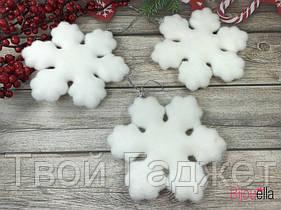 Новогодняя игрушка «Снежинка»