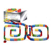 Конструктор Падающее домино 125 деталей Kronos Toys , фото 1