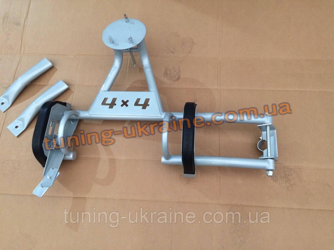 Кронштейн запасного колеса цвет серебро (снежка) на Ваз 2121 Нива 4х4 URBAN 2013+