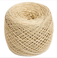 Пряжа шерстяная бежевого цвета 100% шерсть мериноса 100г