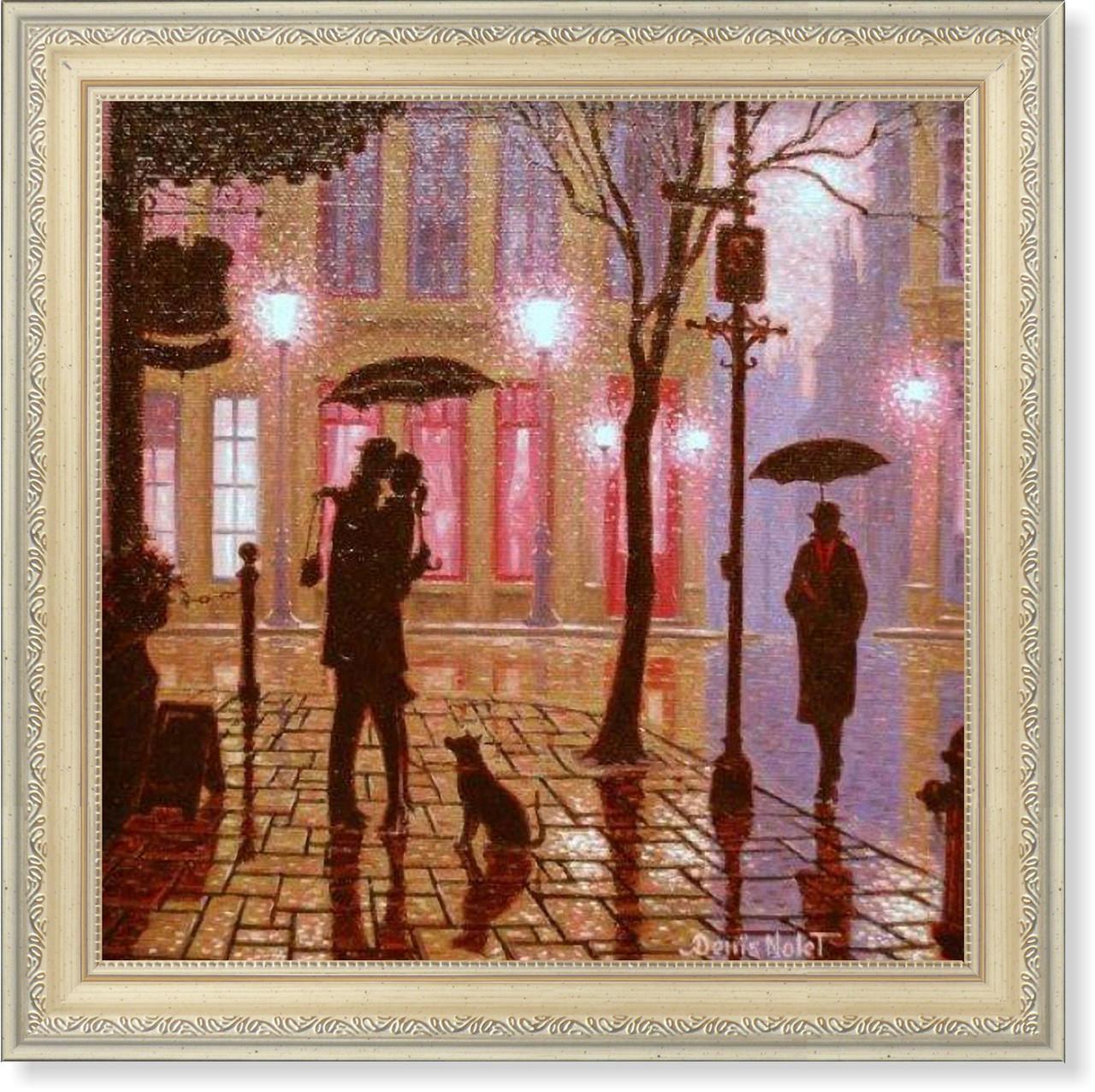 Репродукция  современной картины Дениса Ноле (Канада) «Благодаря вам»