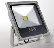 Светодиодный прожектор LED 30 W SLIM Luminous CooL White 6000K 2700 LM
