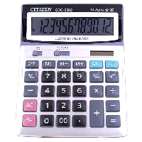 Калькулятор Citizen SDC- 3882
