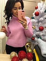 Женский красивый свитер под горло (расцветки), фото 1
