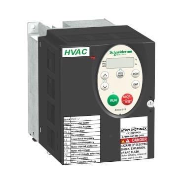 Перетворювач частоти для насоса Altivar 212 0.75 кВт 380АС ATV212H075N4