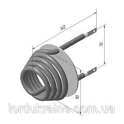 ТЭН 118 Б8/1,0Т 220 для аппаратов сахарной ваты УСВ-1 КИЙ-В