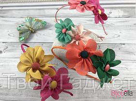 Обруч детский цветок 04-2