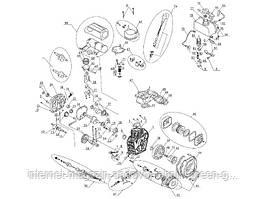 Запчастини для двигуна дизельного Sadko DE-300E/DE-300ME