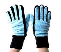 Перчатки Echt Gloves One size L Синий