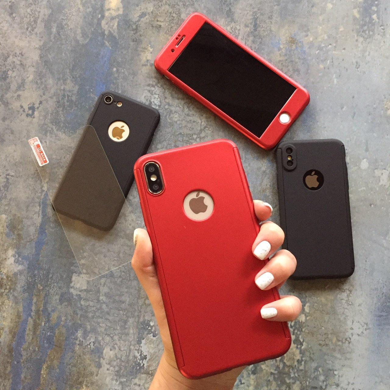 ЧЕХОЛ Full 360 на iPhone XS Max гибкий пластик
