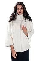 Шуба женская Ваша Шуба Муза Белый Скандинавская Норка 44 Белый, фото 1