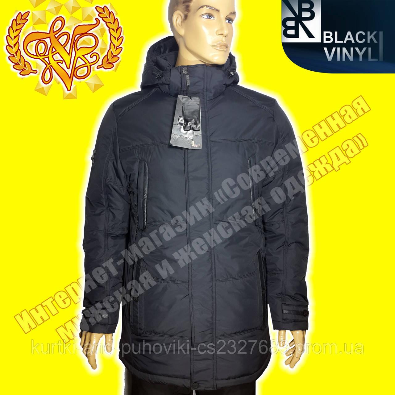 767d6551dd0 Куртка - парка мужская Black Vinyl - Интернет-магазин «Современная мужская  и женская одежда