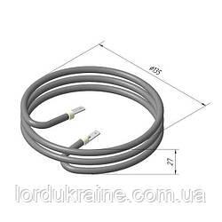 ТЭН 126 В 6,5/1,0 220 для аппаратов сахарной ваты УСВ-4 КИЙ-В
