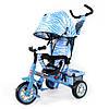 Велосипед трехколесный Combi Trike Zoo-Trike Голубая зебра TILLY BT-CT-0005