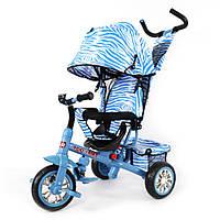 Велосипед трехколесный Combi Trike Zoo-Trike Голубая зебра TILLY BT-CT-0005 , фото 1