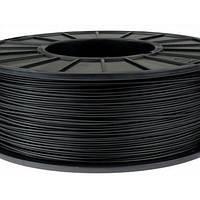 Пластик в котушці PLA 1,75 мм, MonoFilament, 0,5 кг, Чорний