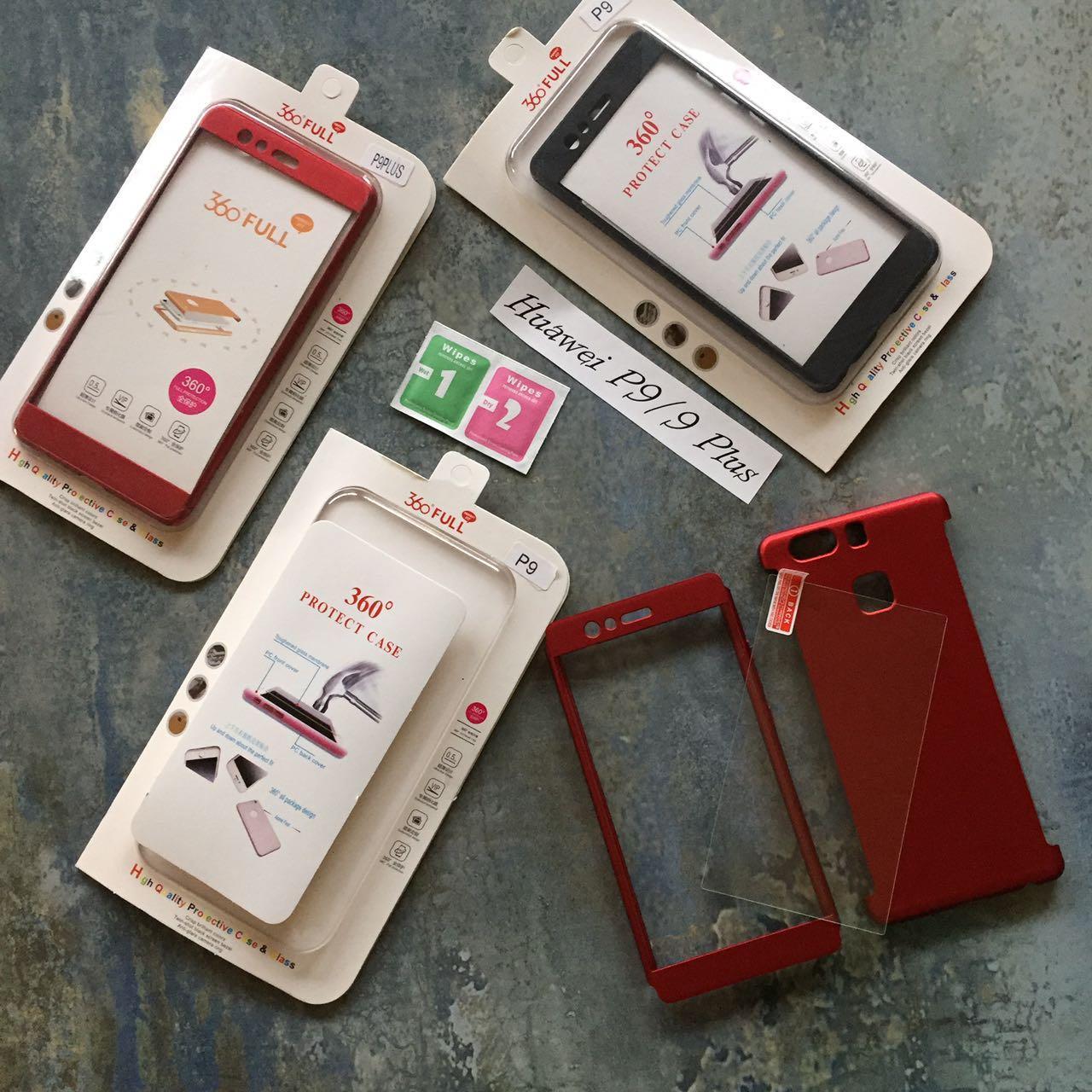 ЧЕХОЛ Full 360 на Huawei P9 Plus гибкий пластик