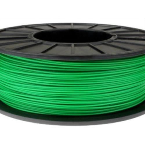 Пластик в котушці PLA 1,75 мм, MonoFilament, 0,5 кг, Зелений
