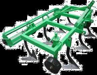 Культиватор сплошной обработки КН-1,6М с грудобоем для мототрактора, минитрактора